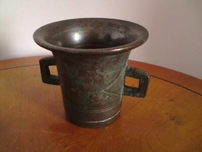 Antique European Bronze Mortar (missing Pestle)