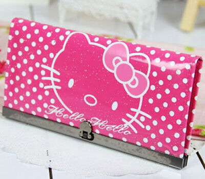 Cute Hello Kitty Girls Card Coin Cash Bag Holder Purse Long Wallet SPECIAL OFFER