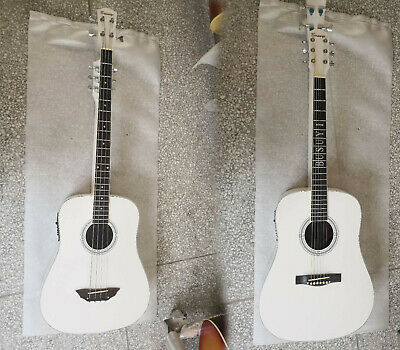 Guitar-4 String  Bass / 6 String Acoustic Electric 2 Sides, double neck, Busuyi