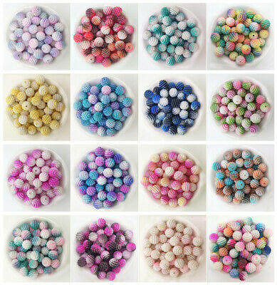 DIY 10/12mm Color Myrica Rubra Ball Round Pearl Plastic Beads Lot Jewelry Making