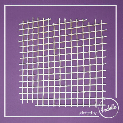 Mosaic Squares Background Cut-out Chipboard Shape Cardmaking Scrapbooking Craft
