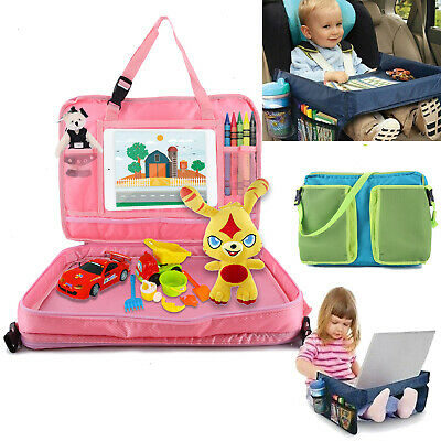 Safety Waterproof Snack Baby Car Seat Table Play Kids Travel Tray Drawing Board