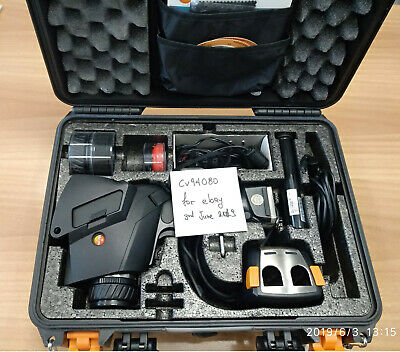 Testo 881-3 Thermal camera with super resolution installed