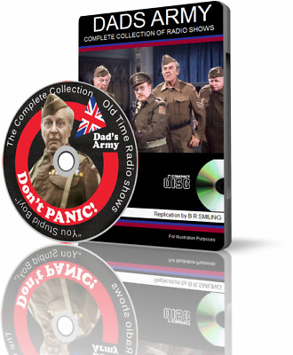 DADS ARMY Complete Collection - Old Time Radio shows AUDIO MP3 CD
