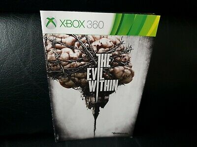 The Evil Within, Xbox 360 Game Manual, Trusted Ebay Shop