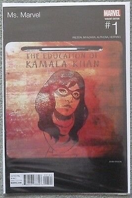 Ms. Marvel #1 Hip-Hop Variant..marvel 2016 1St Print..nm..kamala Khan