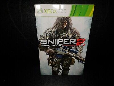 Sniper: Ghost Warrior 2: Limited Edition Xbox 360 Game Manual, Trusted Ebay Shop