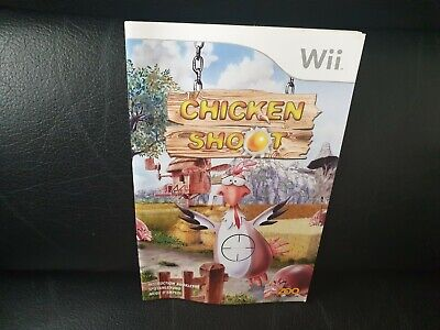 Chicken Shoot, Nintendo Wii Game Manual, Trusted Ebay Shop