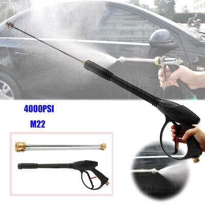 1Set 4000PSI High Pressure Car Power Washer Spray Wand/Lance Nozzle