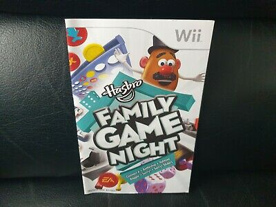 Hasbro Family Game Night, Nintendo Wii Game Manual, Trusted Ebay Shop
