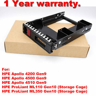 """774026-001+661914-001 HPE G9/G10 2.5"""" SSD TO 3.5"""" SATA Converter HDD Tray Caddy"""