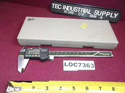 "Mitutoyo Cd6""Cs Absolute Digimatic 6"" Calipers  Loc7363"