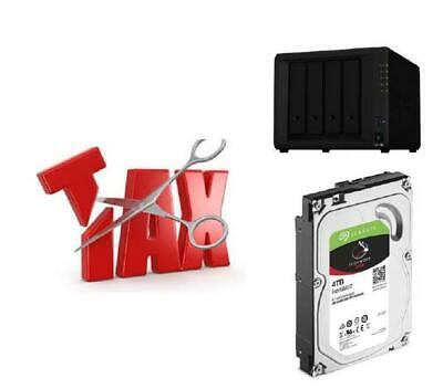 NEW DS918+ 4 IWNAS 4TB SYNTAX18SEA SYNOLOGY TAX SAVER - DS918+ + 4 X SEAGAT.d.