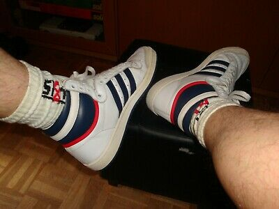 ADIDAS TOP TEN High Hi Used Sneakers Taille 42 23 Occasion US 9 UK 8,5