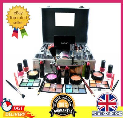 Makeup Beauty Cosmetic Sets Vanity Case Travel Make Up Carry Box Girls Xmas Gift