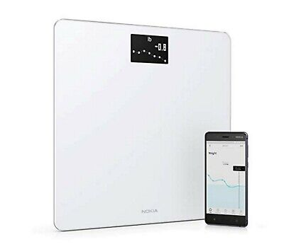 Withings Nokia | Body - Smart Weight & BMI Wi-Fi Digital Scale New Open Box