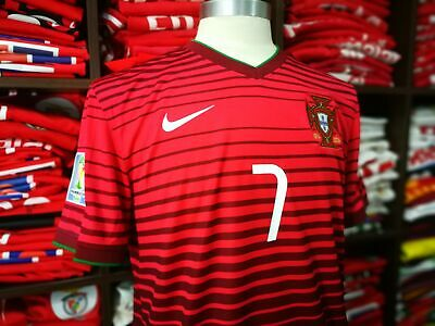 PORTUGAL home 2014 shirt - RONALDO #7 - Real Madrid-Juventus-Man Utd-Jersey (L)