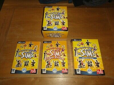 original sims complete collection PC cd-rom