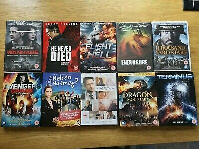 Horror and Action DVD Bundle