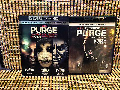 Purge 1-4 Collection 4K (8-Disc Blu-ray)Anarchy/Election Year/First.Lena Heady