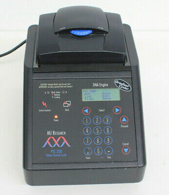 MJ Research PTC-200 Thermal Cycler W/ 384-well Alpha Block