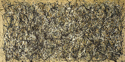 Jackson Pollock - One Number 31, 1950 HD Print on Canvas Wall Picture Multisize