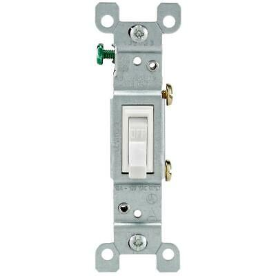 Leviton  15A-120V-277VAC AC Only Toggle Light Switches Spec Grade