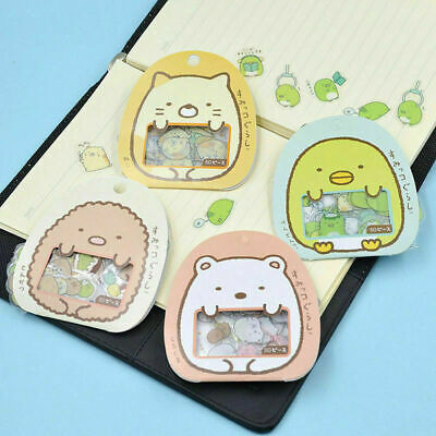 50pcs/pack Cute Sumikko Gurashi Sticker Flakes Bag Sack Animal Sell Gift Hot