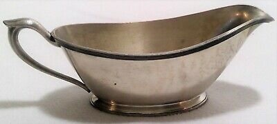 Oneida community gravy boat silver plate antique vintage kitchen decoration home