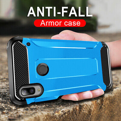 Armor Shockproof Case for Samsung A20/A30/A50 Cover Anti-scratch Dual Layer