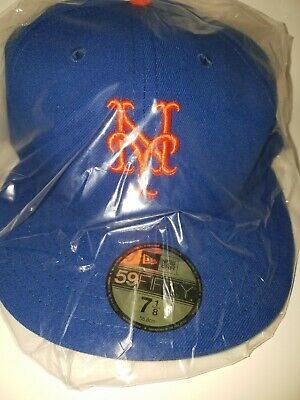 promo code 6be18 c04f3 New York Mets Fitted Hat Cap World Series Patch 2015 NEW by New Era 59Fifty