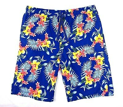 835b4a7326 TOMMY BAHAMA Mens 11 Inch BAJA Hibiscus Tropical Floral Board Shorts Trunks  L