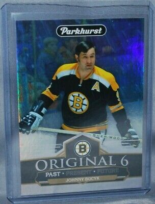 2018-19 Upper Deck Parkhurst Original 6 #O6-7 Johnny Bucyk Boston Bruins