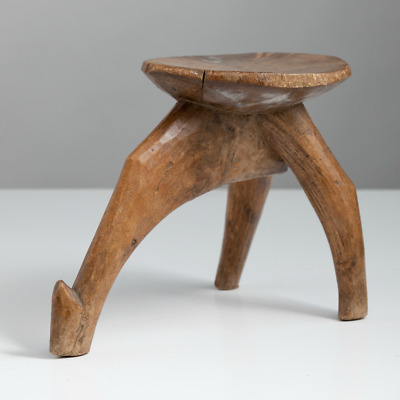 Carved Stool by the Lobi People