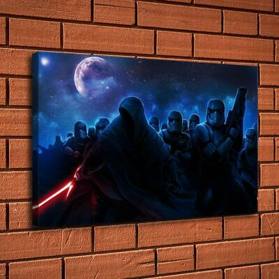 "Star Wars Stormtrooper Sith HD Canvas prints Home Decor Picture Wall art 16""x26"""