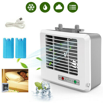 1x Portable Mini Air Conditioner Cool Cooling Artic Air Cooler Fan Humidifier KH