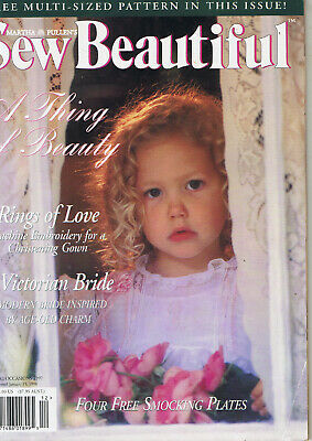 SEW BEAUTIFUL MAGAZINE SPECIAL OCCASIONS 1997  Martha Pullen Magazine SMOCKING