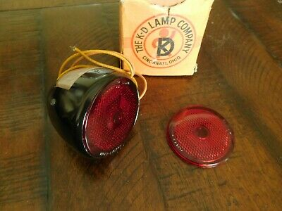 1934 1935 1936 Plymouth Woody Wagon Dodge Panel Tail Light Lamp 2 Lenses NORS