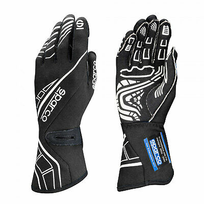 Sparco Race Gloves LAP RG-5 Black (with FIA homologation) - Genuine - 10
