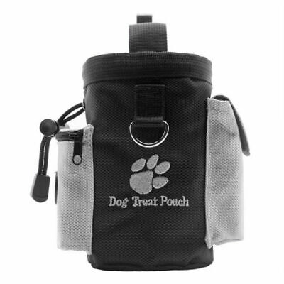 Waterproof Dog Pet Puppy Obedience Agility Bait Training Food Treat Pouch Bag Su