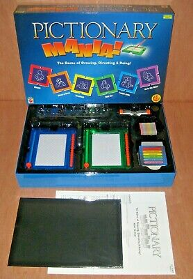 Pictionary Mania Board Game - Opened But Never Used Everything Is Still Sealed