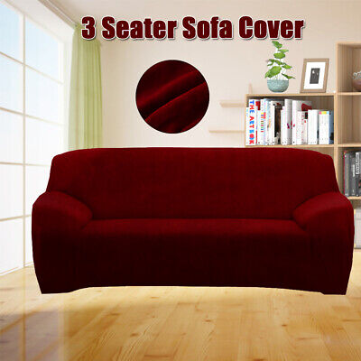 Stretch Sofa Slip Covers Couch Cover Lounge 3 Seater Covers Slipcover Washable