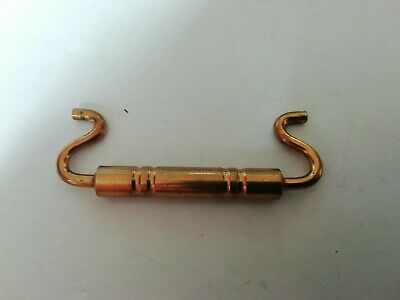 reclaimed vintage Brass Carriage Clock Handle. 6.1 CMS WIDE spares /repairs #27
