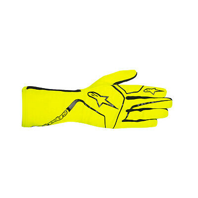Alpinestars TECH 1-K RACE MY17 Karting Gloves Yellow - Genuine - XXL