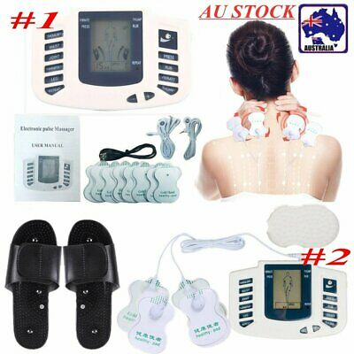 Electrical Muscle Stimulator Pulse Therapy Massager Acupuncture Full Body Relax