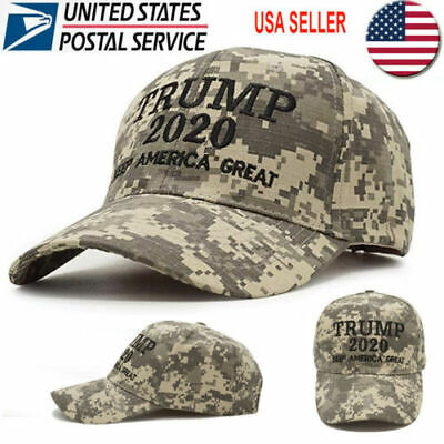 Trump 2020 Hat Digital Camo Keep America Great KAG Make America Great Again USA