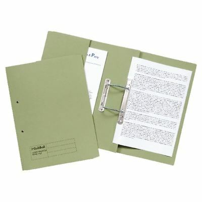 Guildhall Green Foolscap Heavyweight Pocket Spiral File (Pack of 25) [GH23035]