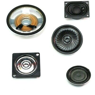 MINIATURE SPEAKERS Mylar or Paper  CHOICE