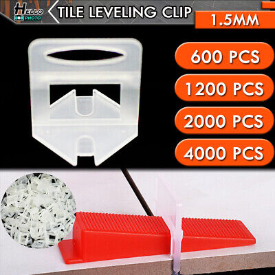 600-4000x Tile Leveling System Clips Wedges Plier Spacer Tiling Tool Floor Wall