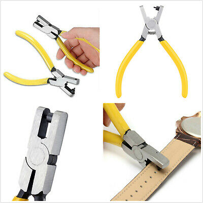 Universal Hole Punch Plier Watch Band Strap Belt Eyelet Leather Hand Repair Tool